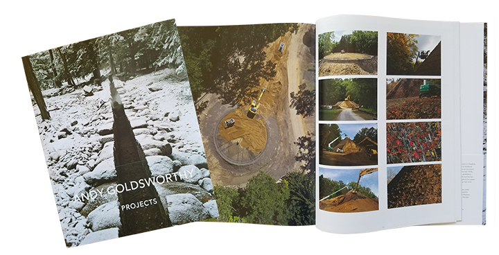 Goldsworthy Book that includes Site Design Pros, Doug Brown.